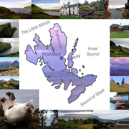 Map of Skye
