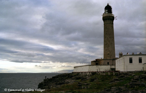 Ardnamurchan point, le phare