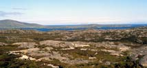 The eastern coast is very mineralThe eastern coast of Harris is very mineral