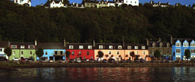 Colored houses of Tobermory