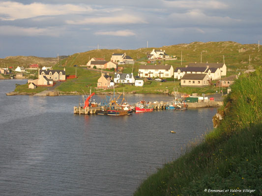 Scalpay, North harbour