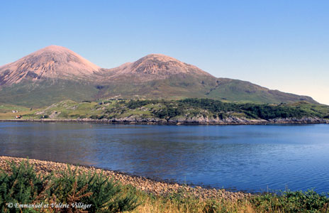 Red Hills of Skye and loch Slapin