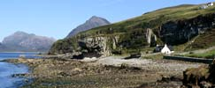 View towards the Cuillins from Elgol