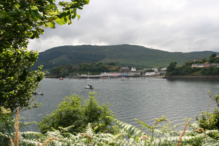 General view on Portree.