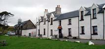 The small village of Stein and its old pub on Waternish peninsula